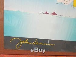 John Lennon estate Yoko Ono LA Beatles Kite vintage poster Inv#G4384