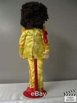 John Lennon plush with stand, The Beatles Sgt. Pepper's Lonely Hearts Club Band