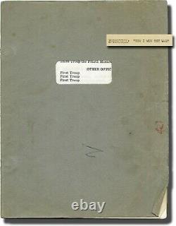 John Lennon's own How I Won the War script (+markings) and call sheet Beatles