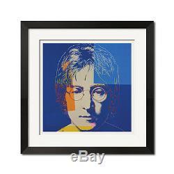 John Lennon x Andy Warhol Pop Art The Beatles Portrait 27x27 Poster Print