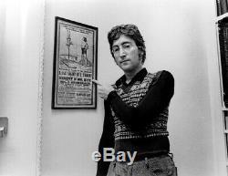 John Lennons Mr. Kite Poster Letterpress Print