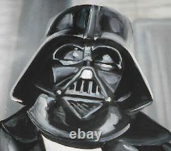 Jules Muck Darth Vader John Lennon Signed Gicee Print Star Wars Beatles Muckrock
