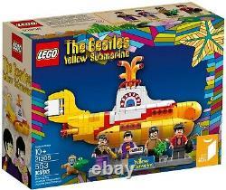 LEGO 21306 Beatles Yellow Submarine Mint in Box RARE FREE USA Shipping