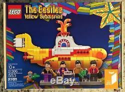 LEGO 21306' IDEAS, The Beatles Yellow Submarine, NEW (No Box) Sealed Bags
