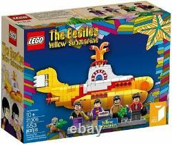 LEGO 21306 Ideas The Beatles Yellow Submarine Building Set Retired Sealed NEW