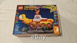LEGO 21306 Ideas Yellow Submarine The Beatles Brand New Retired Set