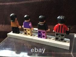 LEGO 21306 The Beatles 4 minifigures with CASE ONLY JOHN Lennon PAUL RINGO GEORGE