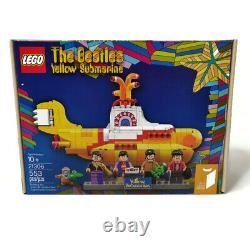 LEGO 21306 The Beatles Yellow Submarine 553 Pieces RETIRED New Factory Sealed