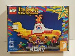 LEGO 21306 The Beatles Yellow Submarine NEW MISB EC Box FAST FREE SHIPPING