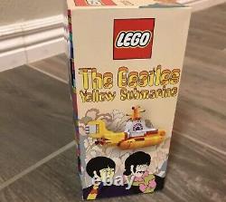 LEGO 21306 The Beatles Yellow Submarine NEW MISB EC Box FAST Shipping