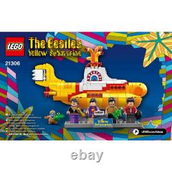LEGO 21306 The Beatles Yellow Submarine Set Retired BRAND NEW in Sealed Box