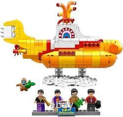 LEGO 21306 The Beatles Yellow Submarine incl. Minifigs, Instructions, Box