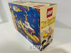 LEGO 21306 Yellow Submarine The Beatles Brand New In Sealed Box Retired Set