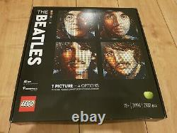 LEGO 31198 Art The Beatles Wall Mosaic 2933 pieces 4 in 1 New Sealed John Lennon