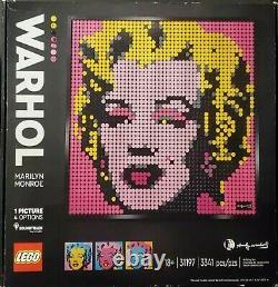 LEGO Andy Warhol's Marilyn Monroe ART (31197) + The Beatles (31198) SHIPS FREE