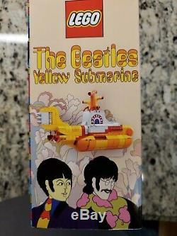 LEGO Beatles Yellow Submarine (21306) NEW, sealed in box