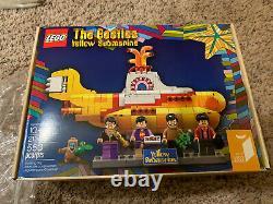 LEGO Beatles Yellow Submarine Retired Set (21306) With bonus Lego 60 Year Box