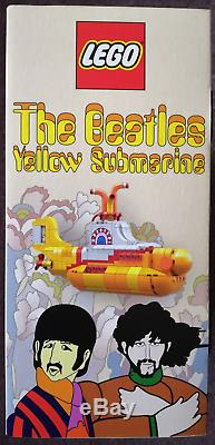 LEGO IDEAS 21306 Beatles Yellow Submarine (RETIRED SET) NISB
