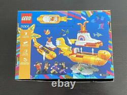 LEGO Ideas #015 The Beatles YELLOW SUBMARINE Building Kit Complete (21306) NEW