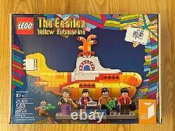LEGO Ideas 21306 The Beatles Yellow Submarine Employee Collection see desc