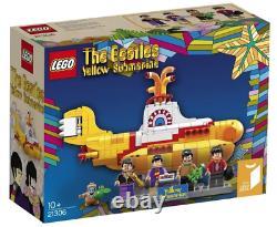 LEGO Ideas 21306 The Beatles Yellow Submarine (Retired Set) NISB