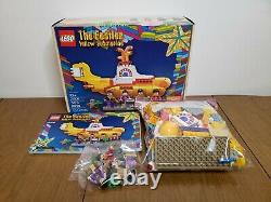 LEGO Ideas 21406 The Beatles Yellow Submarine Complete