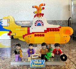 LEGO Ideas Beatles Yellow Submarine 21306 100% Complete (NO BOX & INSTRUCTIONS)