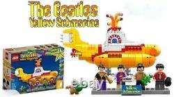 LEGO Ideas CUUSOO Rare The Beatles Yellow Submarine 21306 New & Sealed