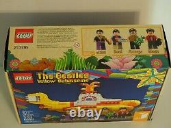 LEGO Ideas THE BEATLES Yellow Submarine 21306 NEW in Box Factory Sealed Retired