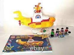 LEGO Ideas The Beatles YELLOW SUBMARINE (21306) John Lennon, Paul McCartney