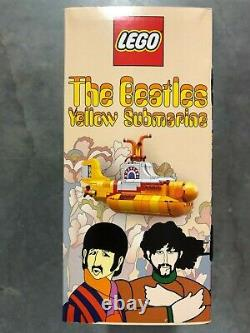 LEGO Ideas The Beatles Yellow Submarine (21306) 553 pcs NEW SEALED. RETIRED