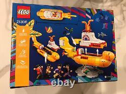 LEGO Ideas The Beatles Yellow Submarine (21306) Brand New! Low Price