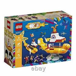 LEGO Ideas The Beatles Yellow Submarine 21306 NIB Retired