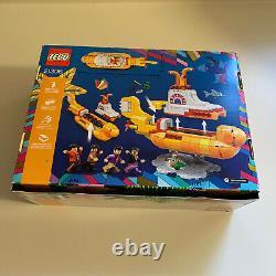 LEGO Ideas The Beatles Yellow Submarine (21306) New Set