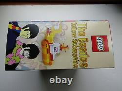 LEGO Ideas The Beatles Yellow Submarine #21306 New in nice factory sealed box