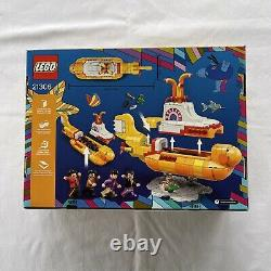 LEGO Ideas The Beatles Yellow Submarine 21306 Retired 2016 New & Sealed