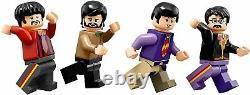 LEGO Ideas The Beatles Yellow Submarine Building Blocks Construction Toy 21306