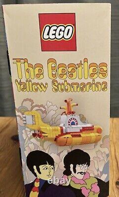 LEGO Ideas The Beatles Yellow Submarine, New in box
