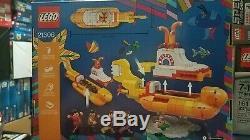 LEGO Ideas The Beatles Yellow Submarine Set 21306