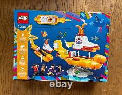 LEGO Ideas Yellow Submarine 21306 The Beatles Brand New Sealed