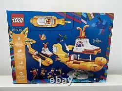 LEGO Ideas Yellow Submarine 21306 The Beatles Brand New & Sealed Retired Set