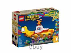 LEGO Ideas Yellow Submarine #21306 The Beatles. NEW in box. RETIRED