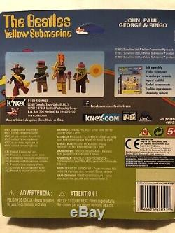 LEGO Ideas Yellow Submarine And Two Knex Beatles Sets Mint, Unopened