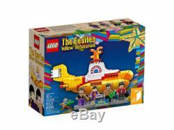 LEGO Ideas Yellow Submarine Beatles, New Sealed