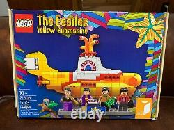 LEGO SET NEW in Box Sealed 21306 The Beatles Yellow Submarine IDEAS