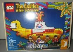 LEGO The Beatles YELLOW SUBMARINE 21306 Brand New In Box! NIB