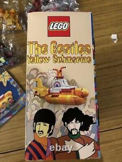 LEGO The Beatles Yellow Submarine (21306) 100% Complete With Box And Manual
