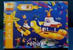 LEGO The Beatles Yellow Submarine 21306 New
