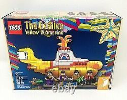 LEGO The Beatles Yellow Submarine 21306 Retired New Sealed