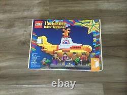 LEGO The Beatles Yellow Submarine factory sealed set (21306)